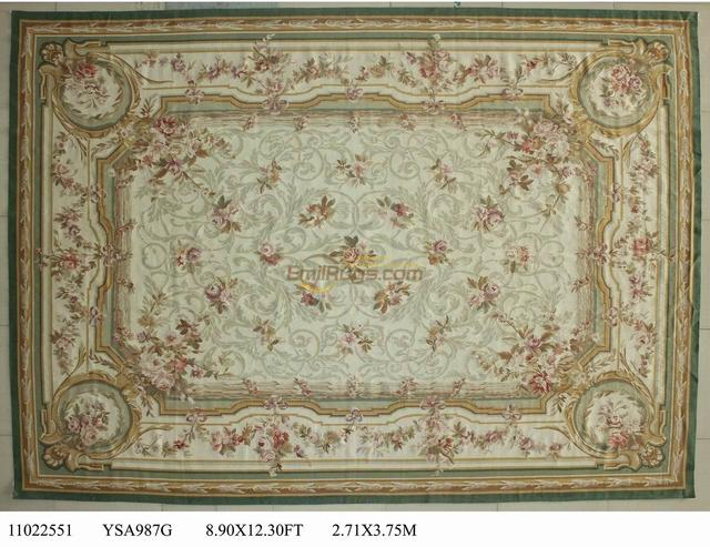 rug about wow light subtle shabby pastel chic roses itm ivory aar cream rugs aubusson details pink french