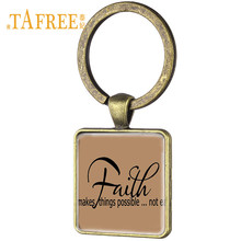 Christian Gifts Bible Verses Key-Rings Pendant