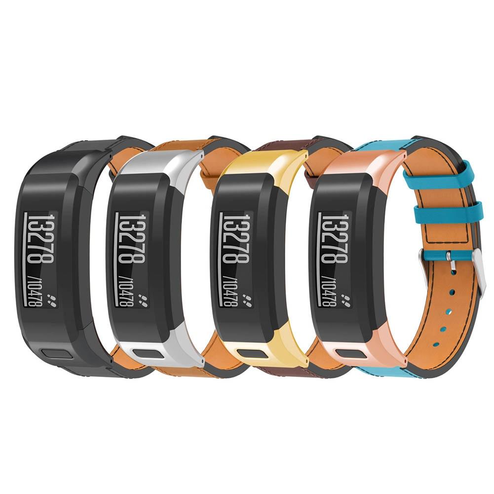 Сменный ремешок для часов кожаный ремешок для часов Garmin Vivo Smart HR LSMK99