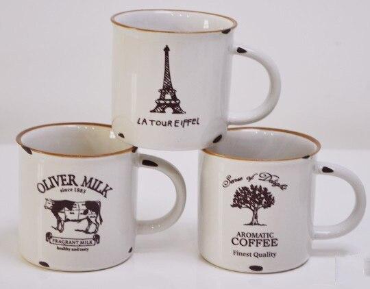 High Quality Zakka Wholesale Microwave Safe Promotional Customized Porcelain Enamel Mug-in Mugs