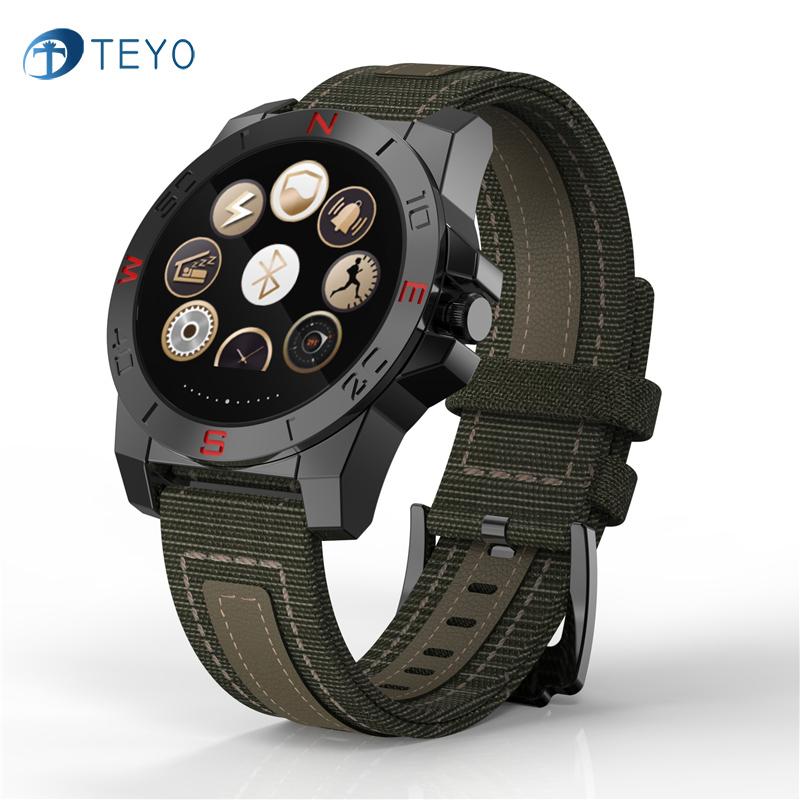 Prix pour Teyo N10 Sport En Plein Air Smartwatch Avec Sommeil Moniteur de Fréquence Cardiaque Fitness Tracker Et Boussole Étanche Montre Pour IOS Et Android