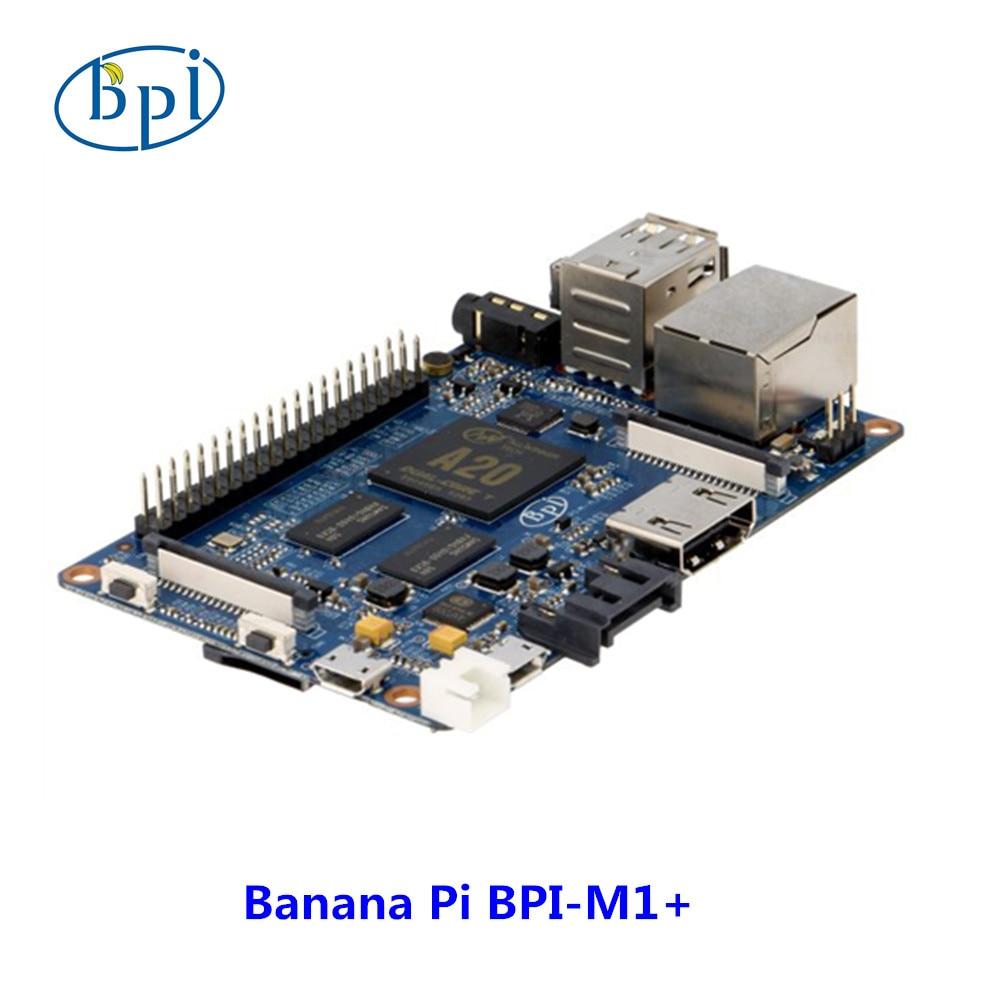 цена на Original BPI-M1+ allwinner A20 Dual Core 1GB RAM on-board WiFi development board