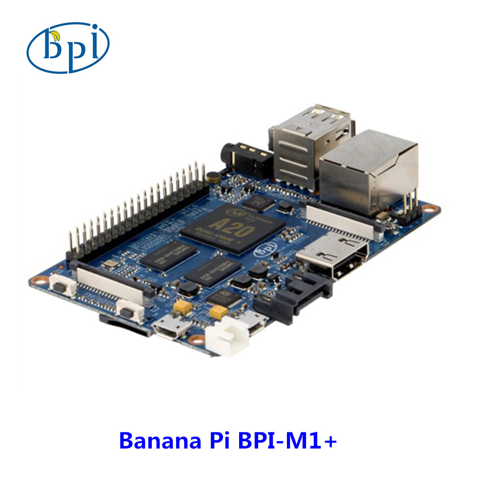 Original BPI-M1+ allwinner A20 Dual Core 1GB RAM on-board WiFi development board