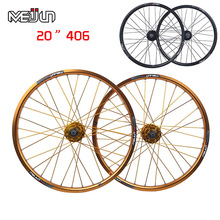 Rim-Parts Wheels Bicycles-Disc Mountain-Bikes Folding 20''-Inch 406 MTB Brake Hubs DIY