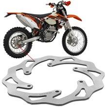 220mm Wave Wavy Motorcycle Rear Brake Disks Disc Brake Rotors For KTM EXC SX SXF 125 150 200 250 300 350 400 450 520