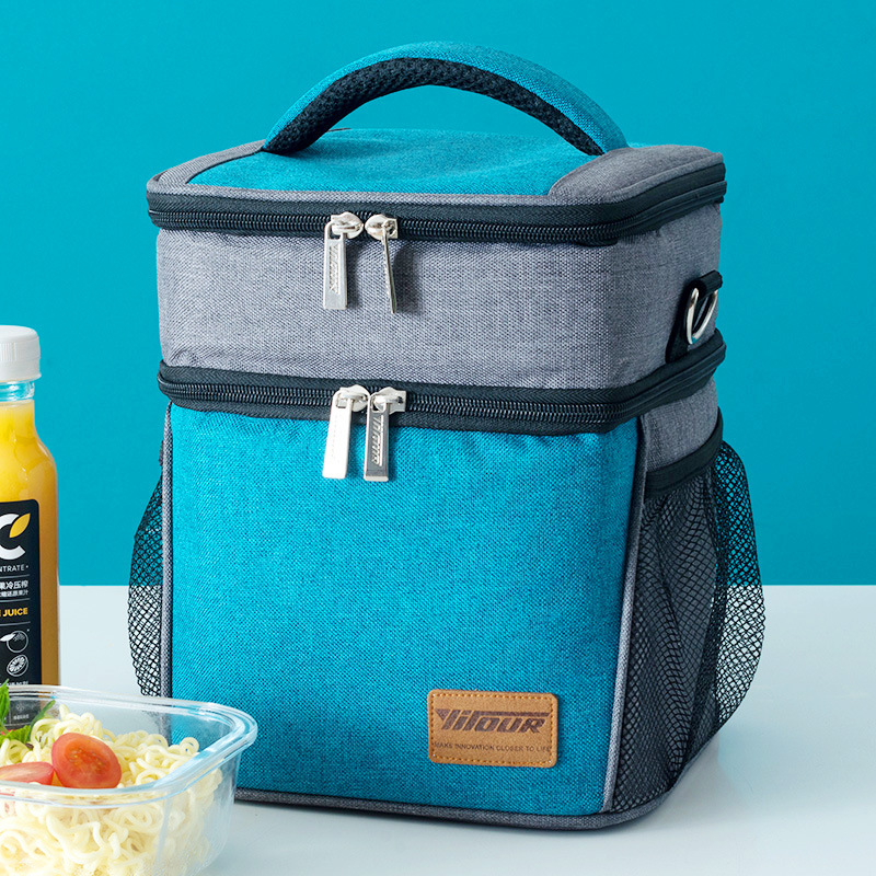 New Fashion Insulated Lunch Bag Thermal Food Bag Large Capacity Casual Picnic Bag Lunch Box For Women And Kids Good Quality