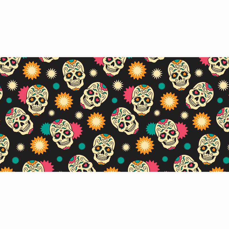 2016 Free Shipping Sugar Skull Bamboo Fiber Bath Towel Towels Bathroom Accessories 70 X 140cm In From Home Garden On Aliexpress