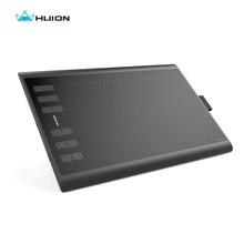 Caliente de la venta Huion nuevo 1060 Plus tableta Digital de gráficos del dibujo Tablets Pen Tablet animación tablero de dibujo negro envío gratis