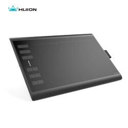 Huion nuevo 1060 Plus 8192 niveles tableta Digital dibujo gráfico tabletas animación dibujo tablero pluma tableta