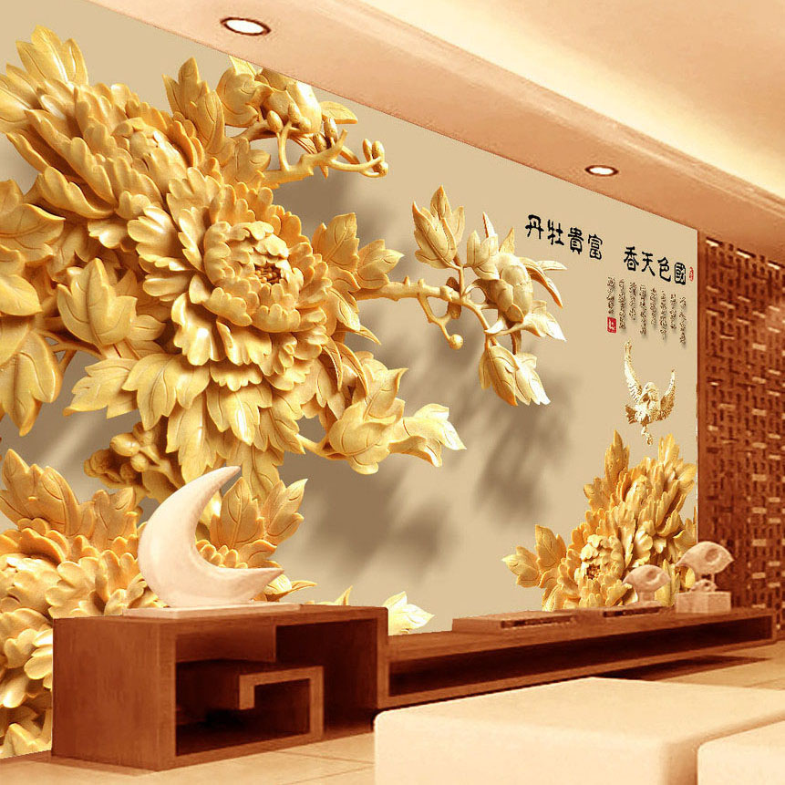 Wood Wall Mural wood wall mural promotion-shop for promotional wood wall mural on