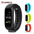 Bluetooth 4.0 inteligente lembrar chamada banda pulseira de fitness rastreador pedômetro pulseira inteligente para samsung huawei xiaomi android ios