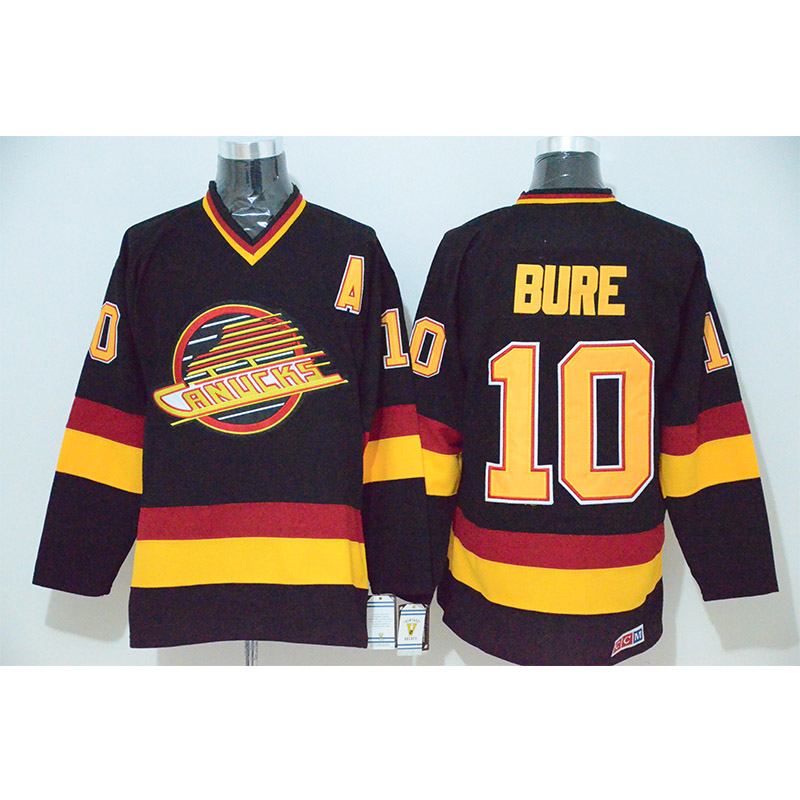 купить Mens Retro Pavel Bure Stitched Name&Number Throwback Hockey Jersey по цене 2312.55 рублей