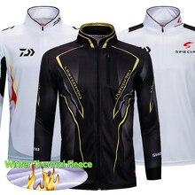 Winter Thermal Fleece Fishing Clothing Warm Shirt Quick Drying Long Sleeve Shirts Jersey Outdoor Jacket