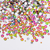 1Pack Mix Sizes Crystal Flame Rainbow Non Hotfix Flatback Glitter Nail Rhinestones Nails Accessories Nail Art
