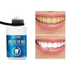Natural Pearl Tooth Brushing Powder Physical Teeth Whitener Detoxifying & Whitening Oralh Dental Oral Hygiene 80g