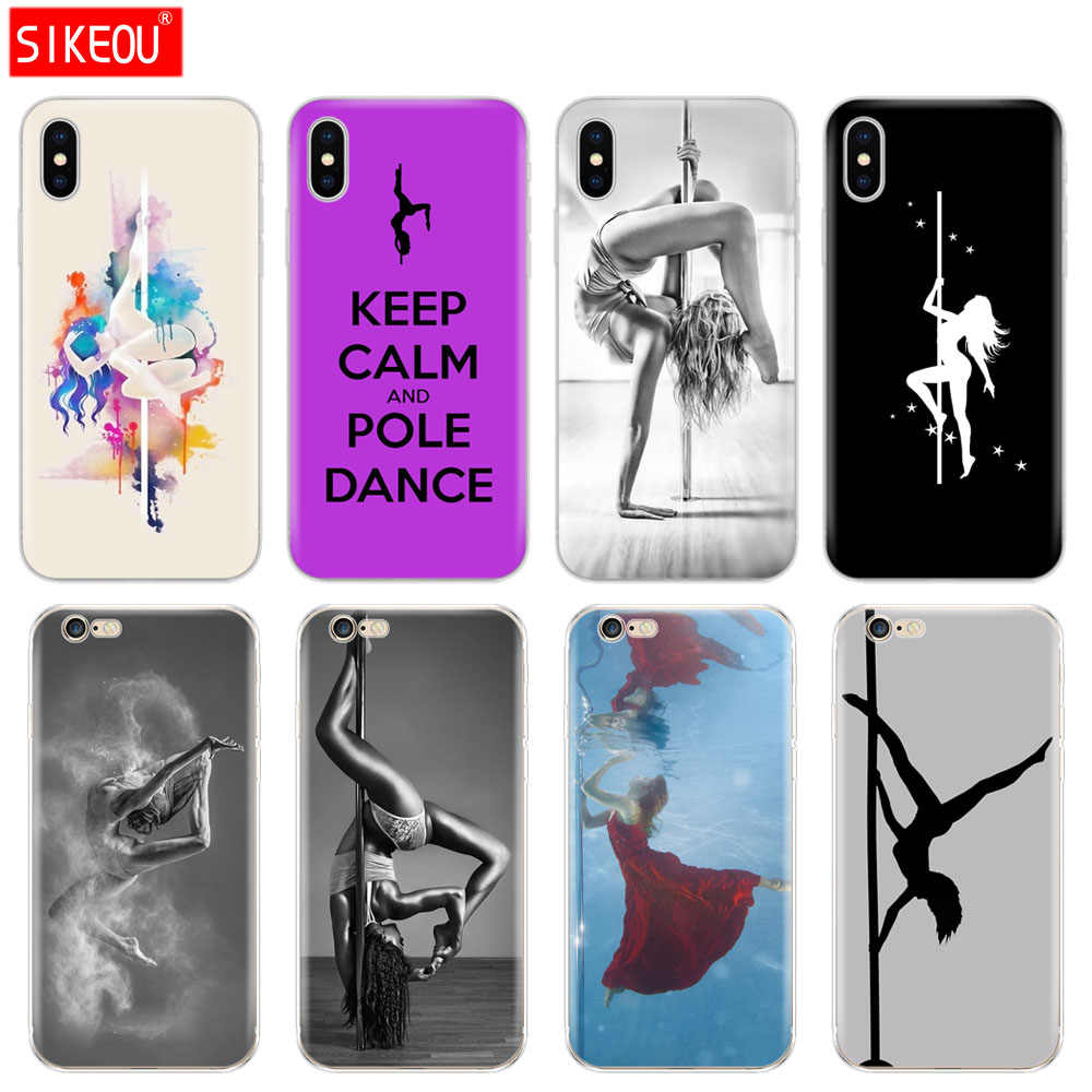 Silicon Cover Phone Case For Iphone 6 X 8 7 6s 5 5s SE 2020 Plus ...