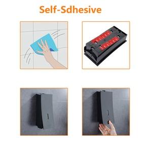 Image 5 - POIQIHY Black Liquid Soap Dispenser Automatic Push Switch Kitchen Sink Liquid Soap Dispenser Handpress Dispenser