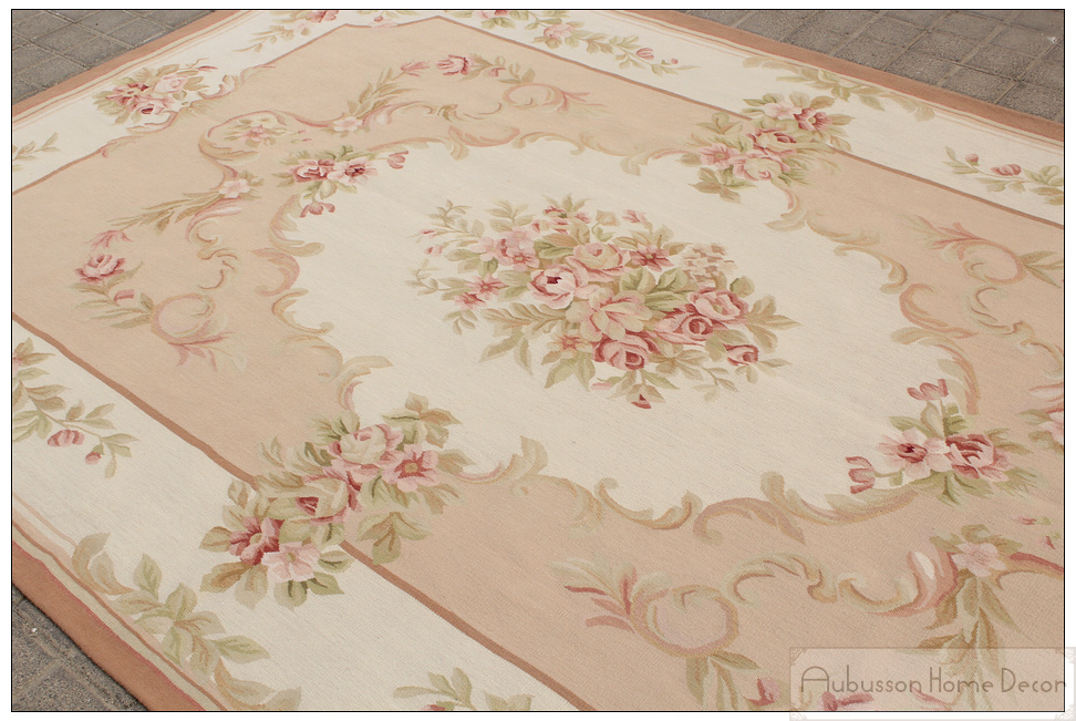 6 x9 wool hand woven shabby chic home decor french style aubusson rh aliexpress com shabby chic wall to wall carpet shabby chic bedroom carpet