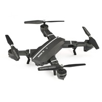8807W FPV Foldable Drone Selfie RC Quadcopter 4CH with 0.3MP Wifi Camera Live Video Altitude Hold Headless 2Pcs Batteries