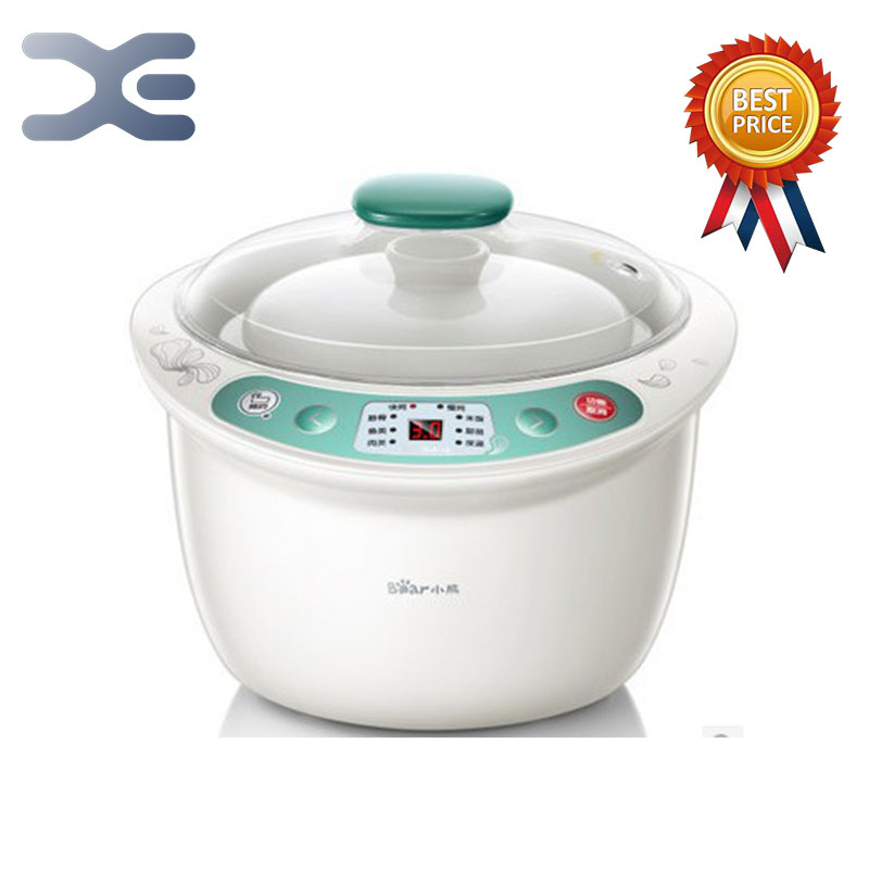 High Quality 1 Pot 4 Liner Electric Cookers Slow Cooker 220V Mini Casserole Crockpots Cooker easy slow cooker