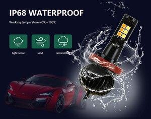 Image 3 - Przednie światło przeciwmgielne do samochodu żarówki podwójny kolor 55W H11 H3 H7 9005 HB3 9006 HB4 880 881 H27 LED światła biały żółty niebieski czerwony różowy