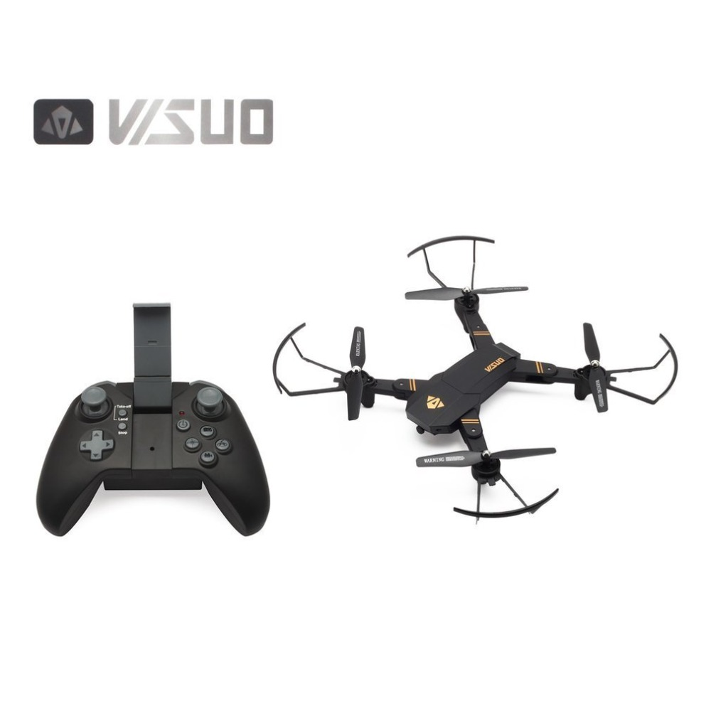 VISUO XS809HW 2.4G Foldable FPV Selfie Drone RC Quadcopter with Wifi/720P Wide Angle Camera Altitude Hold Headless Mode 360 FlipVISUO XS809HW 2.4G Foldable FPV Selfie Drone RC Quadcopter with Wifi/720P Wide Angle Camera Altitude Hold Headless Mode 360 Flip