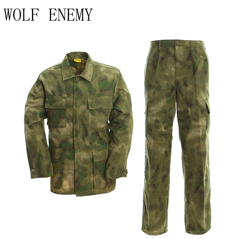 Tactical Combat Clothing Outdoor Airsoft Clothing Camouflage Military Uniform Paintball Gear BDU Uniform Jacket and Pants army military uniform tactical suit equipment bdu desert camouflage combat airsoft cs hunting uniform clothing set jacket pants