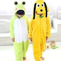 2017 Pijama Women New Panda Girls Cute For Dog Pajamas Warm Autumn Winter Homewear Children S