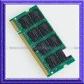 Новый 1 ГБ PC3200 DDR400 SODIMM 200PIN ddr 1 Г 400 МГц Ноутбук ПАМЯТИ 200-контактный SO-DIMM ОПЕРАТИВНОЙ ПАМЯТИ Бесплатно доставка!!!