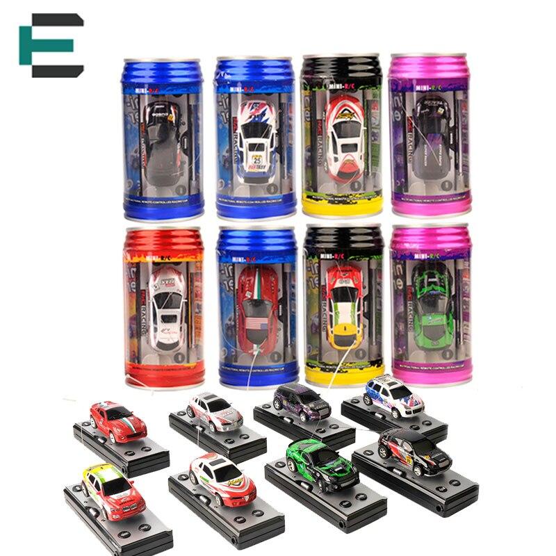 Multi-color 1: 63 coca-cola puede mini rc radio remote control micro car racing