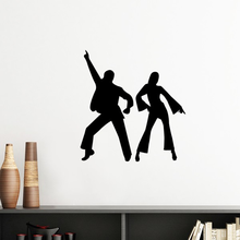 Dancer Sports Duet Dance Performance Silhouette Removable Wall Sticker Art Decals Mural DIY Wallpaper for Room Decal(China)