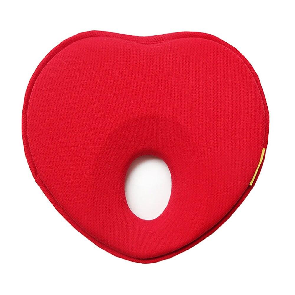 Детские форменная Подушка для новорожденного Детские подушки хлопок для малышей грудка любовь узор детские постельные принадлежности Материнство мамы подушки - Цвет: red