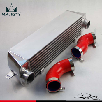 TWIN TURBO INTERCOOLER KIT RED for BMW 135 135i 335 335i E90 E92 2006-2010 N54 image
