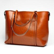 Women's Classic Leather Handbag