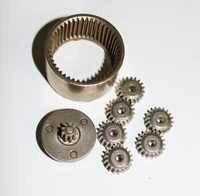 1 zestaw 1/36 stosunek prędkości wiertarka akumulatorowa reduktor biegów 506 skrzynia biegów