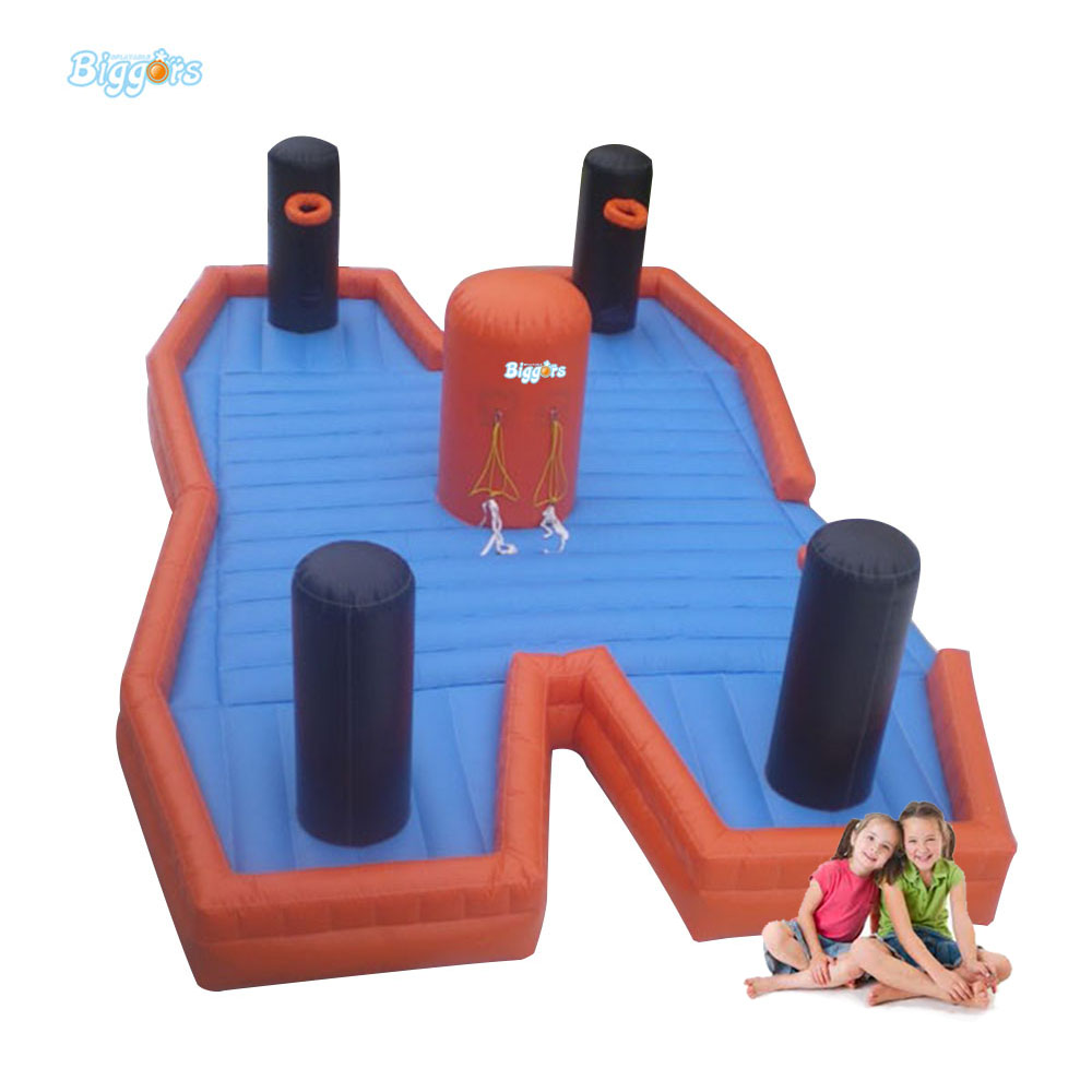 Inflatable Biggors Sports Games Toys Inflatable Bungee Mattress For Sale funny summer inflatable water games inflatable bounce water slide with stairs and blowers