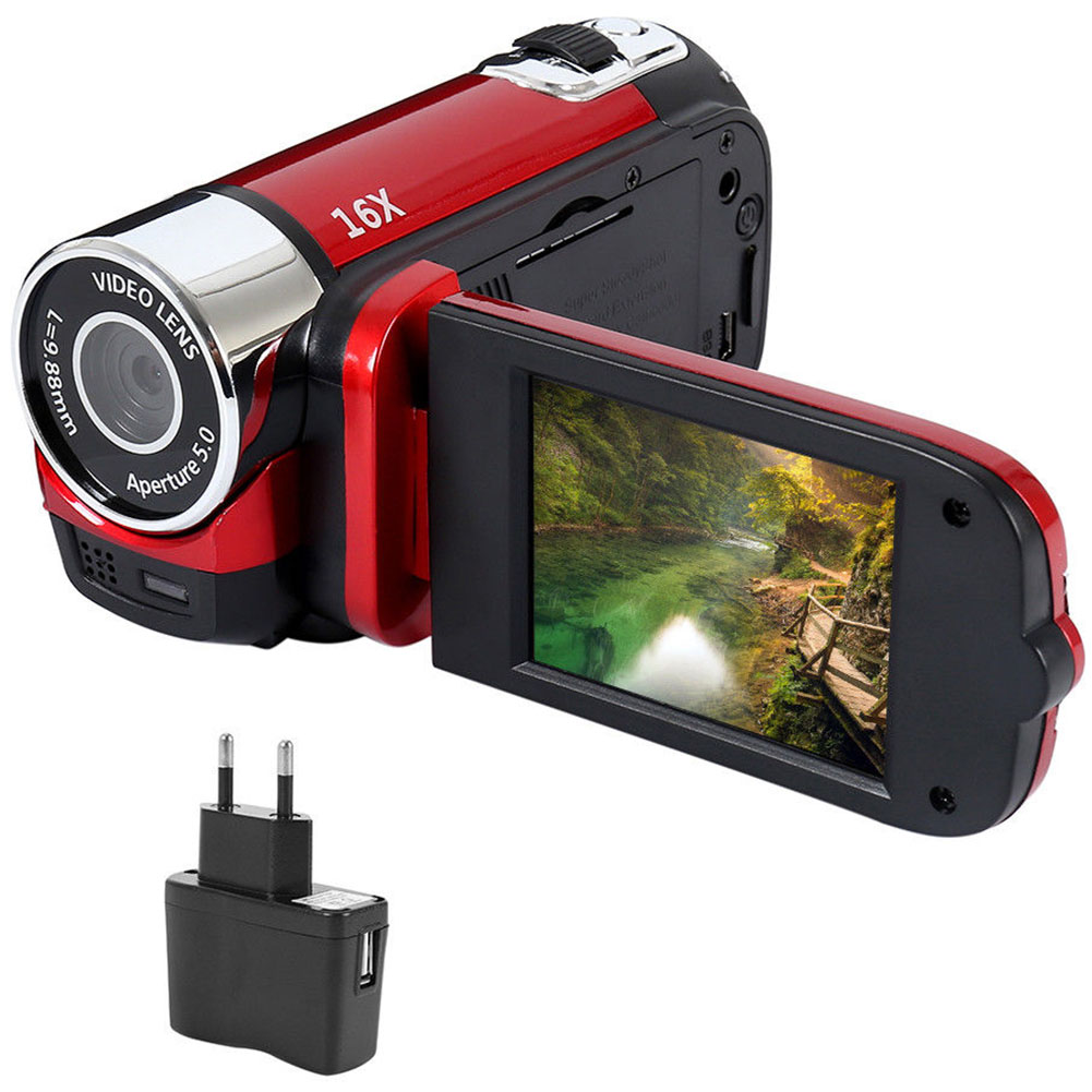 Camcorder Video-Record Digital-Camera Led-Light Shooting Anti-Shake Professional High-Definition