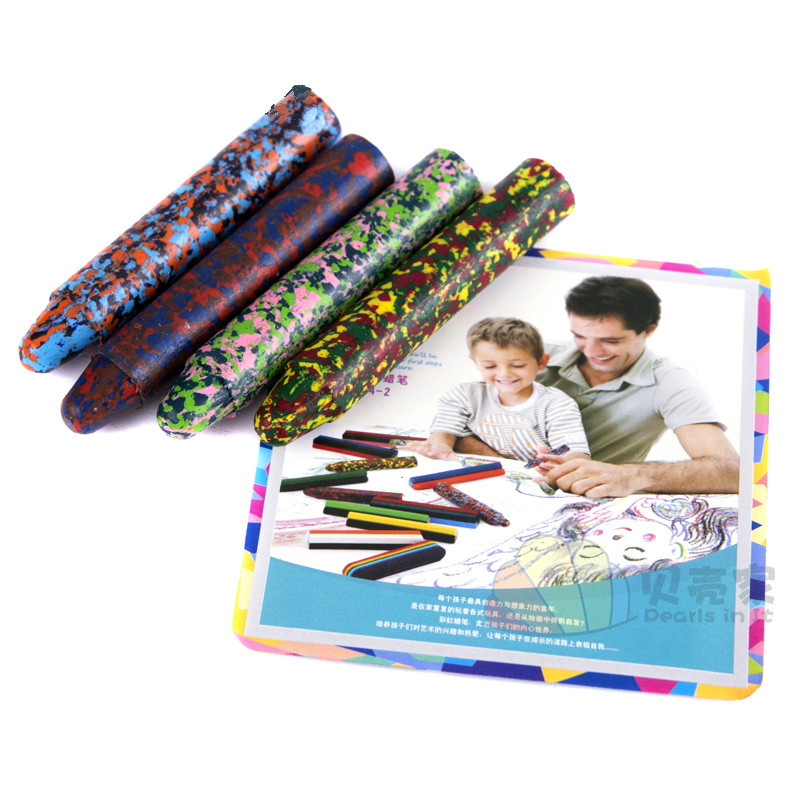 Colorful pastels, crayons, multicolor crayons, kindergartens, children's paintings, painting pens, art, painting supplies