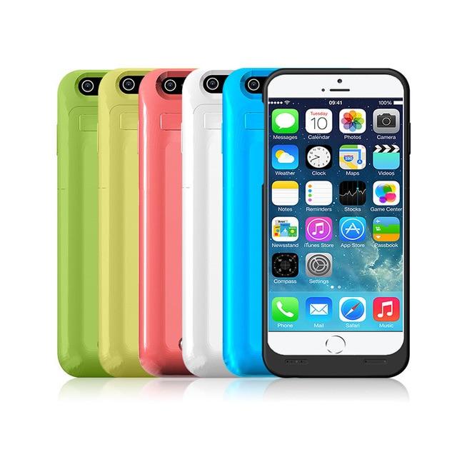 New 3500 mah bateria externa power bank pacote caso carregador de bateria de backup para iphone6 caso estande para iphone 6 6g 4.7 polegadas