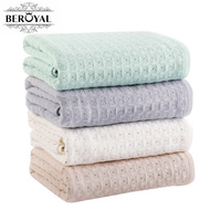 New 2017 Beroyal 1pc Bath Towel Cotton 100 Pure Cotton Soft Restoring Ancient Ways Absorb Water