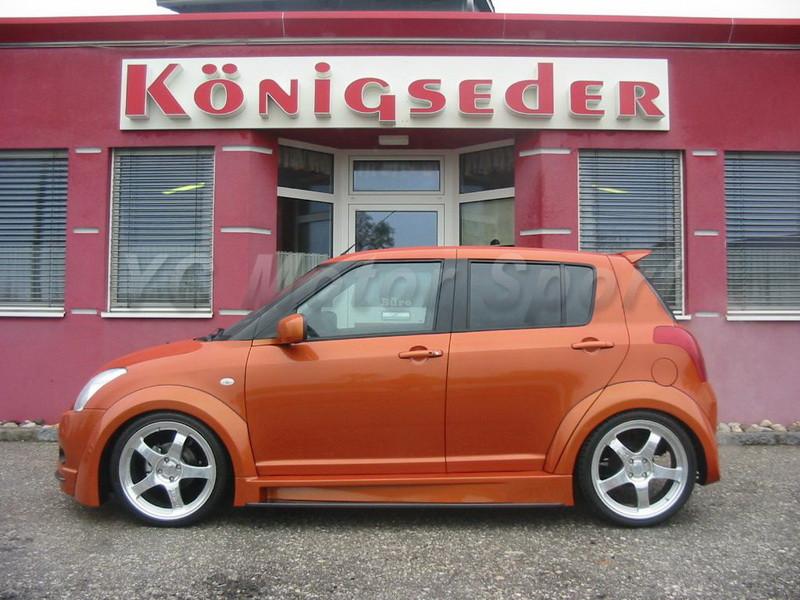 2004-2010 Suzuki SWIFT Königseder Style Wheel Flare Arch CF (7)