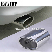 NWIEV Auto Car Rear Exhaust Muffler Tip Pipes For BMW E90 E91 E92 E93 318i 318d BMW 3 Series Stainless Steel Auto Accessories