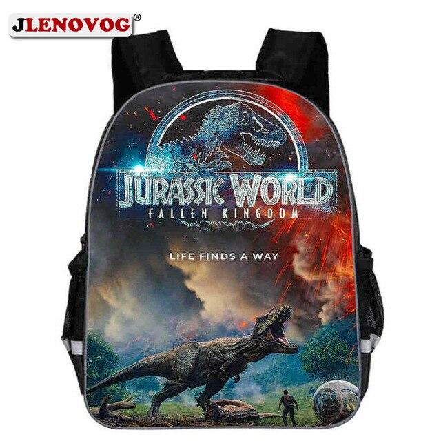 e5f6c55d58 Jurassic World School Bag Kids Teen Dinosaurs Schoolbag Backpack with  Reflective strap Boys Daypack Print 11