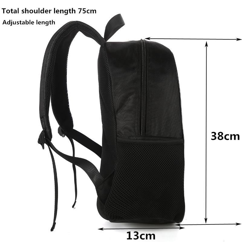 CROWDALE 15-inčni Hip-hop ispis Školske torbe za dječake - Ruksaci - Foto 3