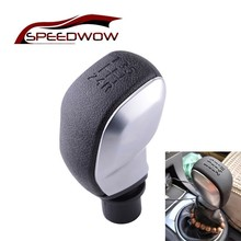 SPEEDWOW Car Manual Gear Shift Lever Knob MT 5 Speed Gear Sh