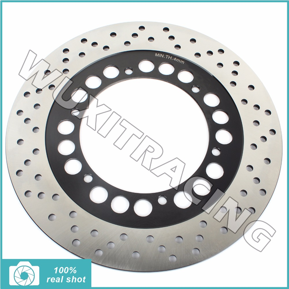 Black Front Brake Disc Rotor for YAMAHA XTZ 660 Tenere 91-98 TZR 50 80 R RR Thunderkid 96-05 XVS 125 250 V-Star 99-12