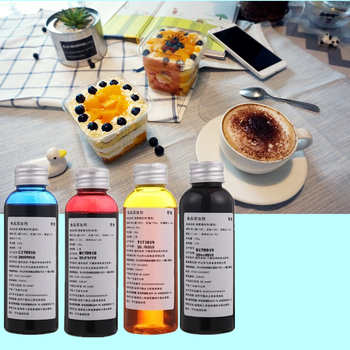 400ml Edible ink Food Ink for Canon MG5680 IP7280 for cake house DIY For food ink use for Cake Edible ink туфли lost ink lost ink lo019awdsfm1