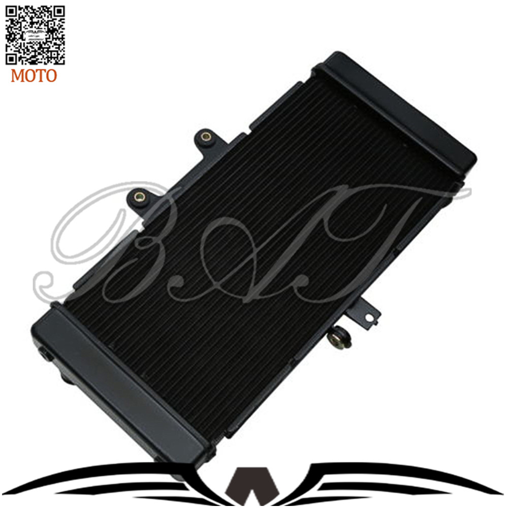 Motorcycle Accessories Aluminum Cooler Radiators System For SUZUKI BANDIT GSF1250S GSF1250 2008 2009 2010 2011 2012 2013