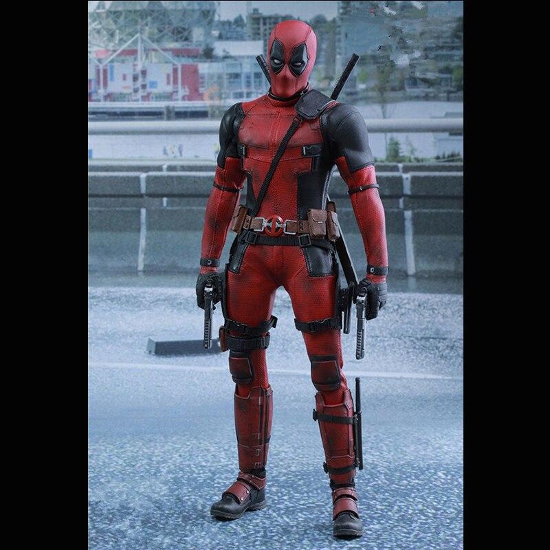 Marvel Дэдпул игрушки с головой-телом для детей фигурку Мстители можно отрегулировать модель 1:6 ними новые мутанты одежда «Супергерои»