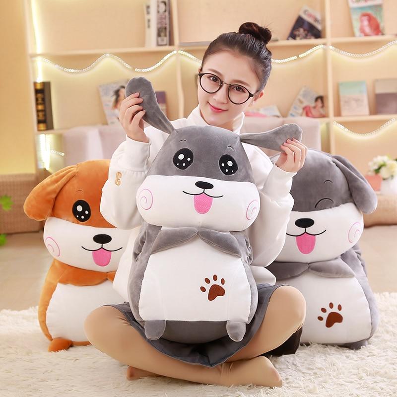 Cute  Plush Stuffed Toys, Super Soft  Dog plush Pillow, Dog Ass Pillow, Children's Toys, Christmas Gifts toys for children